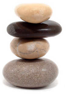 What is the Mind-Body Buzz?. Pebble_Stack_001